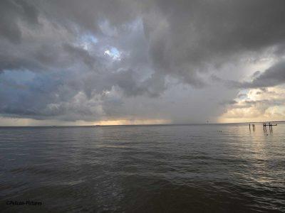 Storm over Kemah